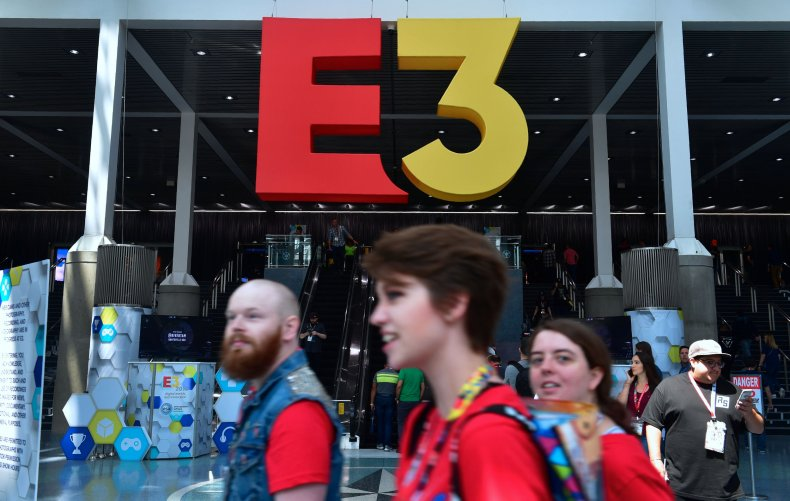 Gamers Attend the 2018 E3 Expo