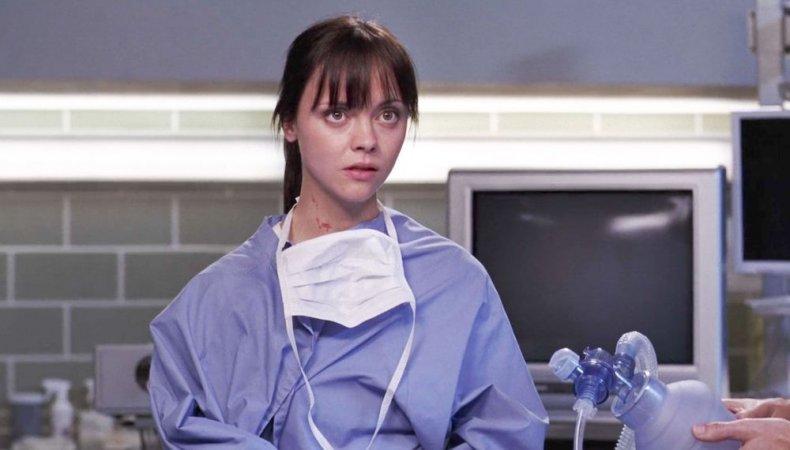 Christina Ricci on Grey's Anatomy