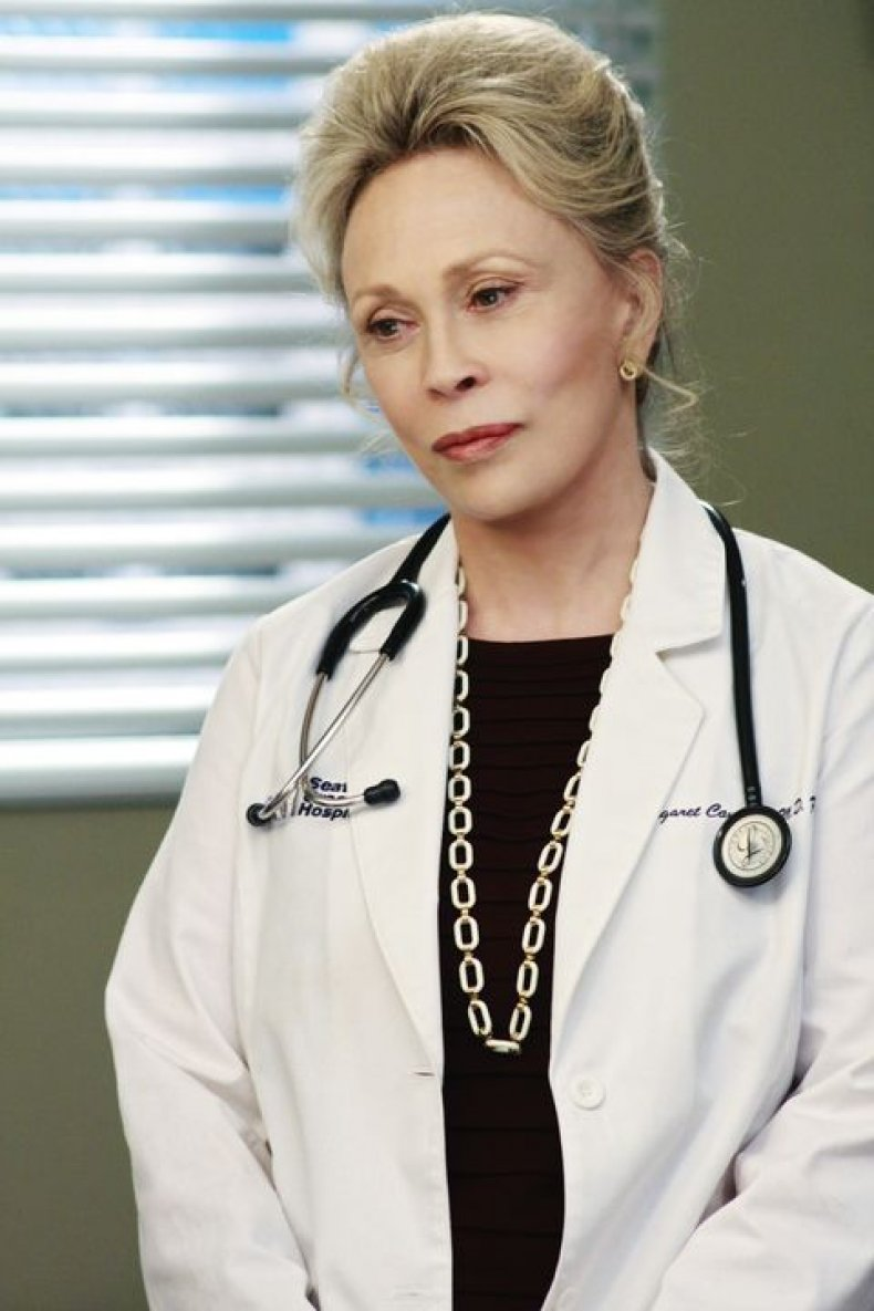 Faye Dunaway on Grey's Anatomy