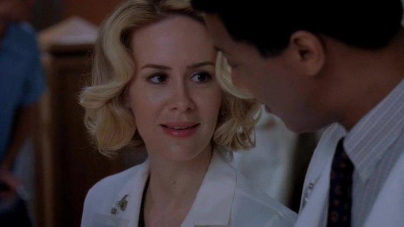 Sarah Paulson on Grey's Anatomy