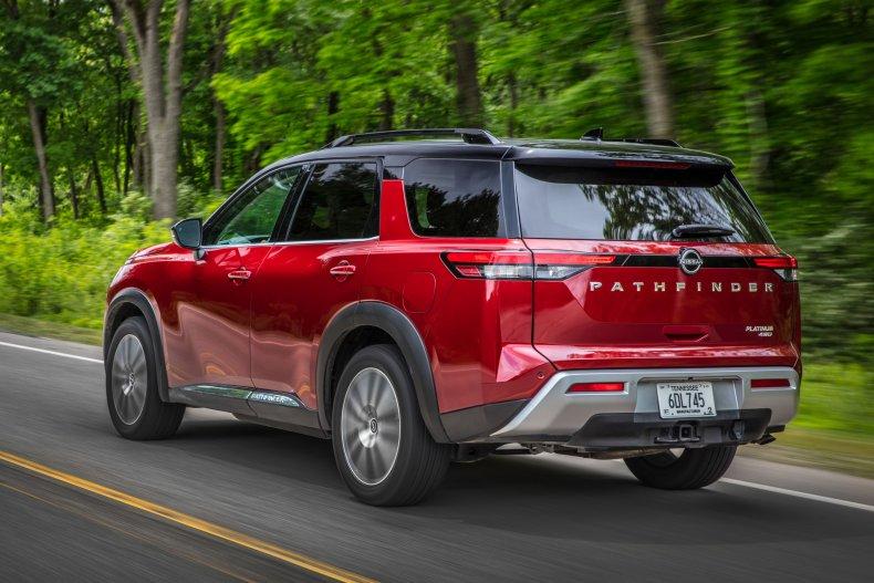 2022 Nissan Pathfinder rear back