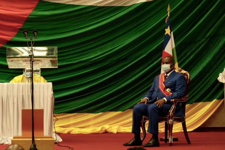 Inauguration présidentielle centrafricaine