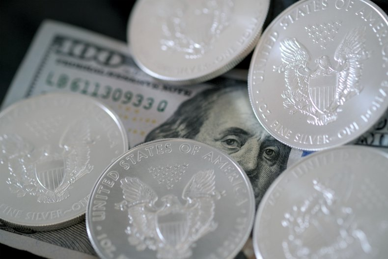 American Eagle bullion coins and a $100