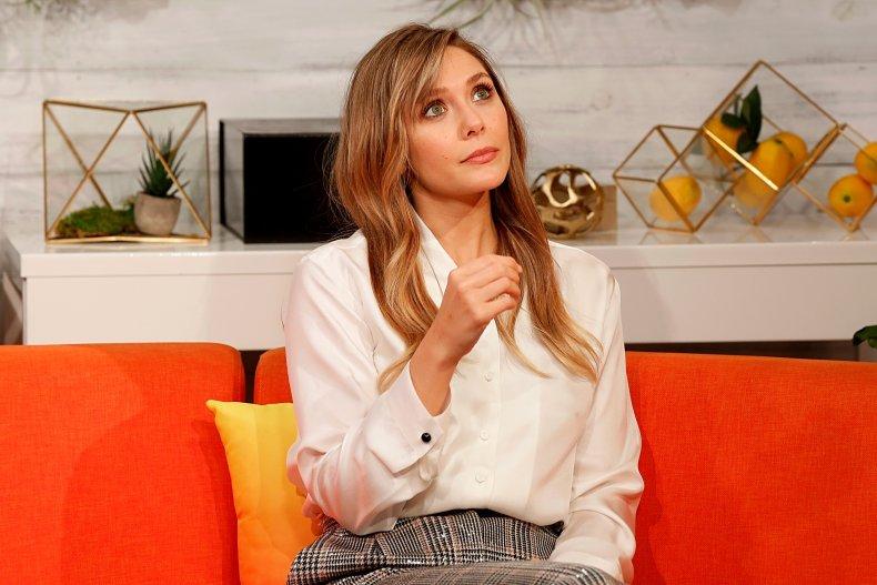 "Elizabeth Olsen starred in Marvel's ""WandaVision"""