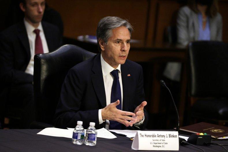 Secretary Blinken Testifies to Senate Committee