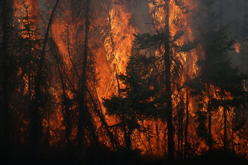Wildfire in Fort McMurray, Alberta, Canada