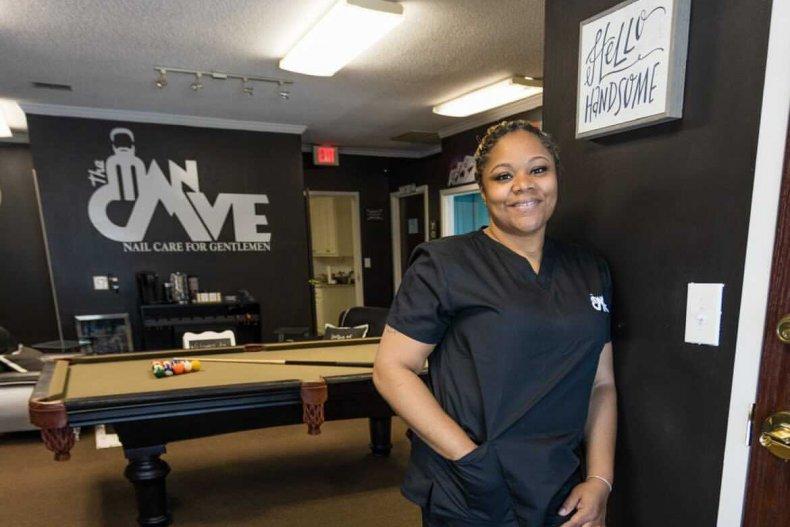 Shana Soberanis' men-only nail salon
