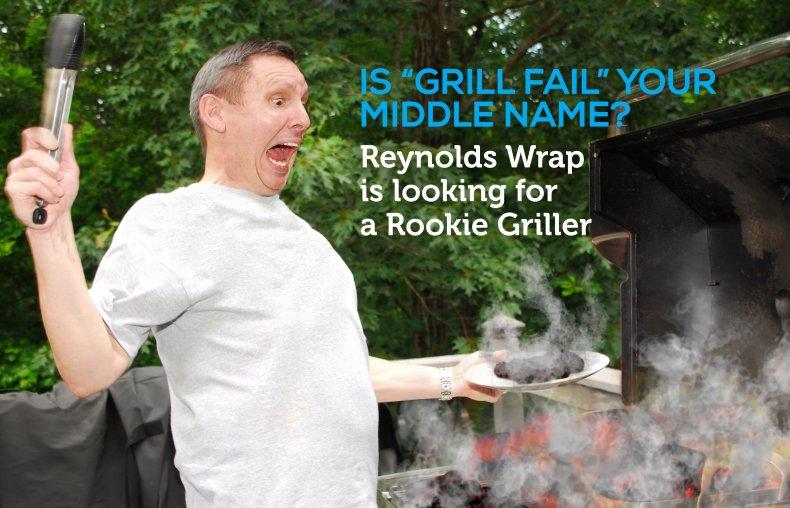Reynolds' Rookie Griller poster