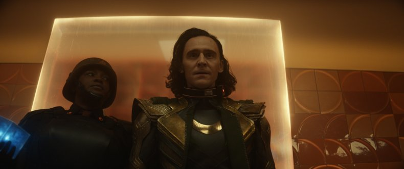 Tom Hiddleston is arrested at the TVA