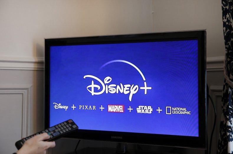 The Disney Plus App Launching on TV