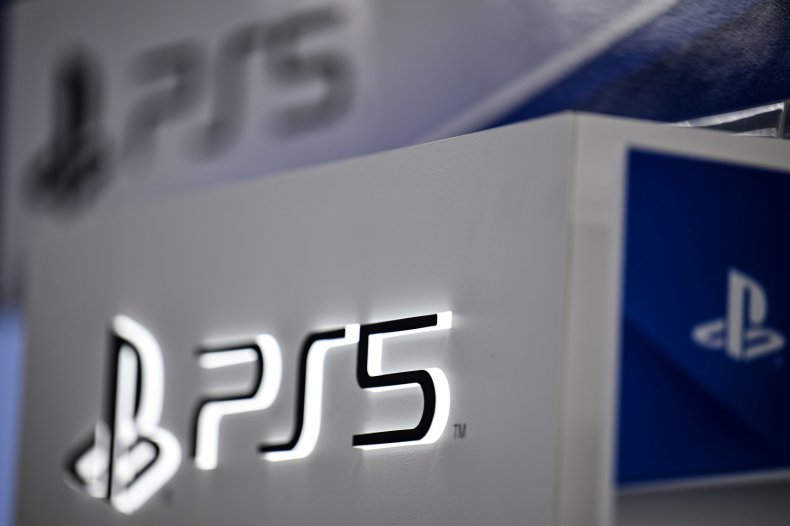 The PS5 Logo Appears at Gaming Store