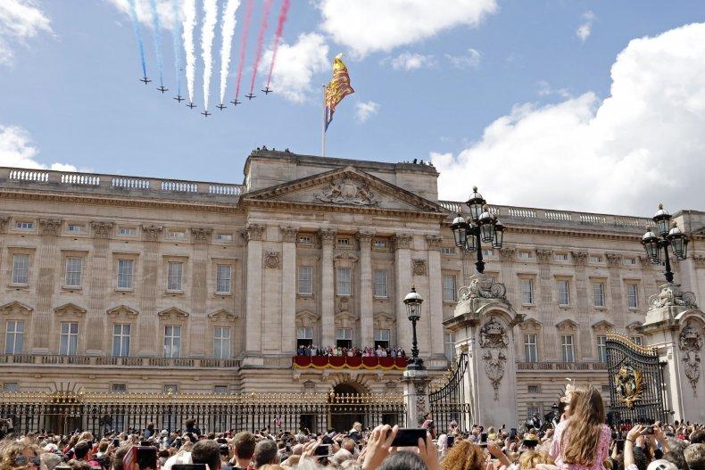 Queen Elizabeth II's London Home Buckingham Palace