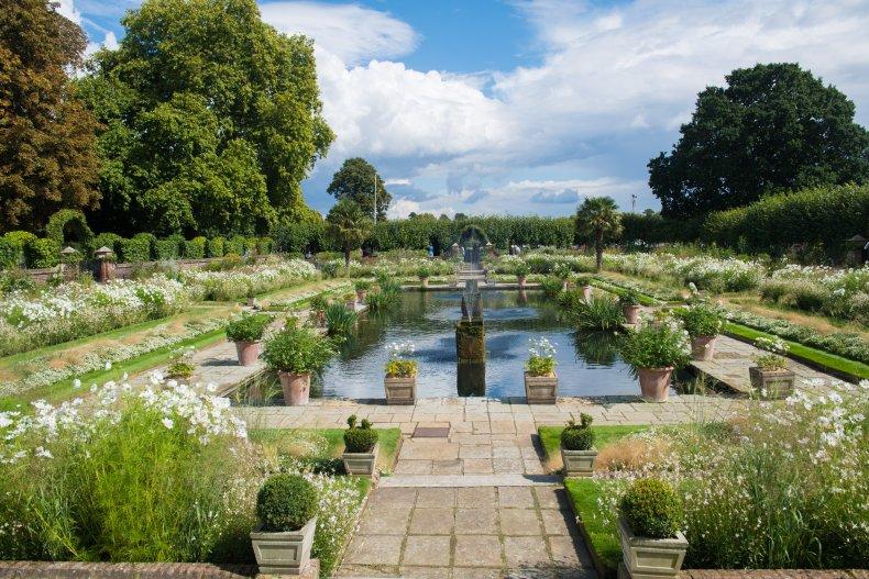 Kensington Palace's Sunken Garden
