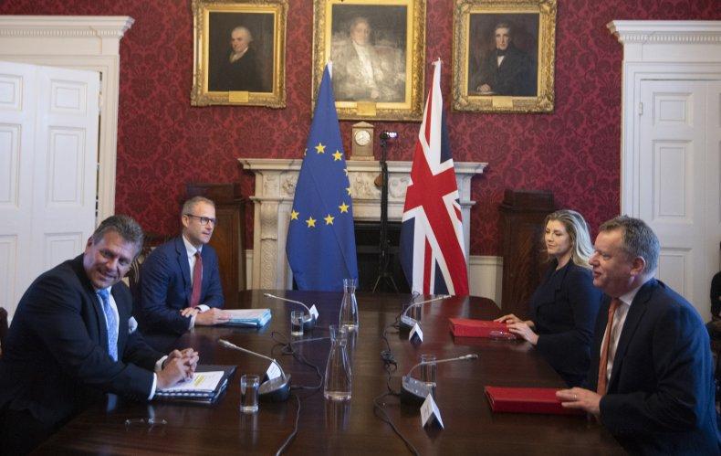 Brexit EU meeting