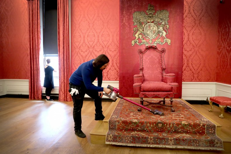 Kensington Palace's King's Presence Chamber