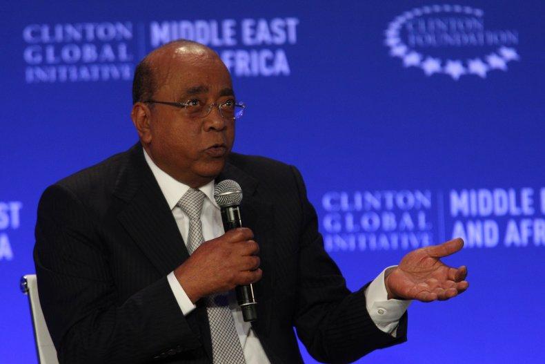 Mo Ibrahim Speaks on Vaccine Hoarding