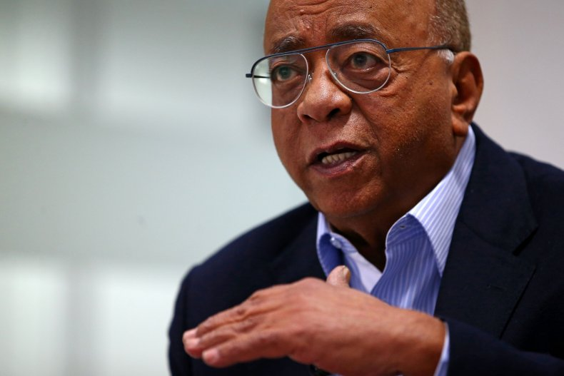 Philanthropist Mo Ibrahim