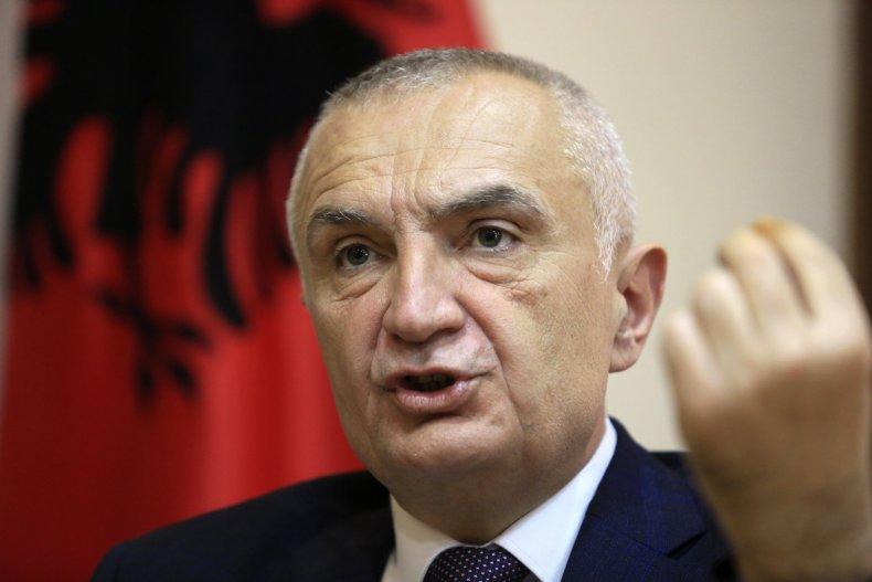 Ilir Meta Interview in Tirana