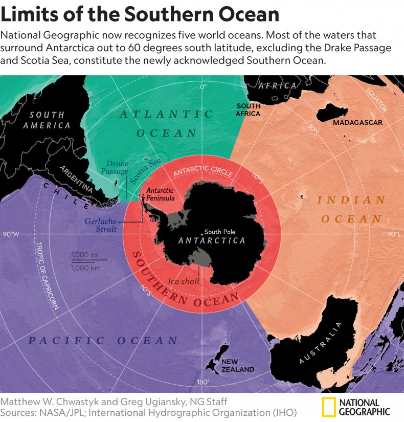 Limits of the Southern Ocean