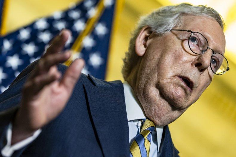 Mitch McConnell goes after Biden infrastructure talks