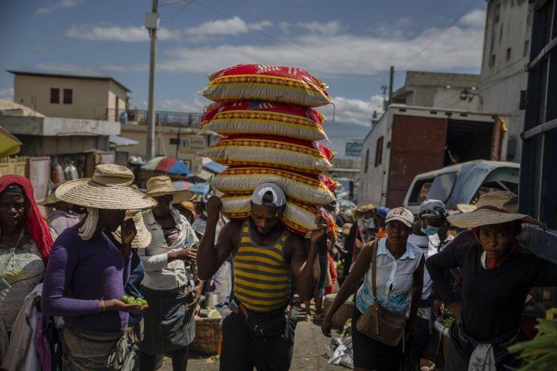 Streets of Haiti June 2021