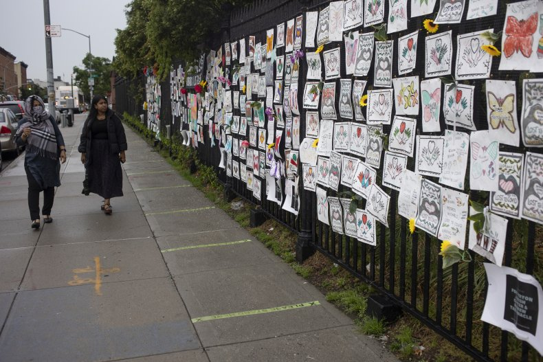 Covid death memorials