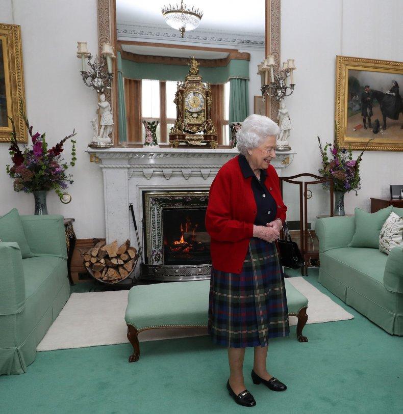 Queen Elizabeth II at Balmoral Castle