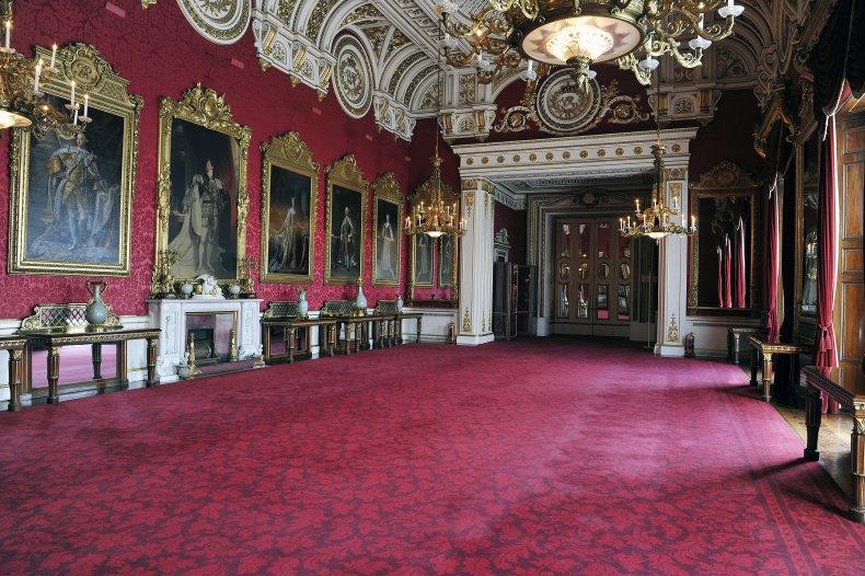 Buckingham Palace State Dining Room