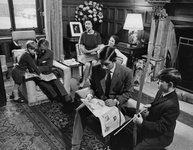 Royal Family at Sandringham House