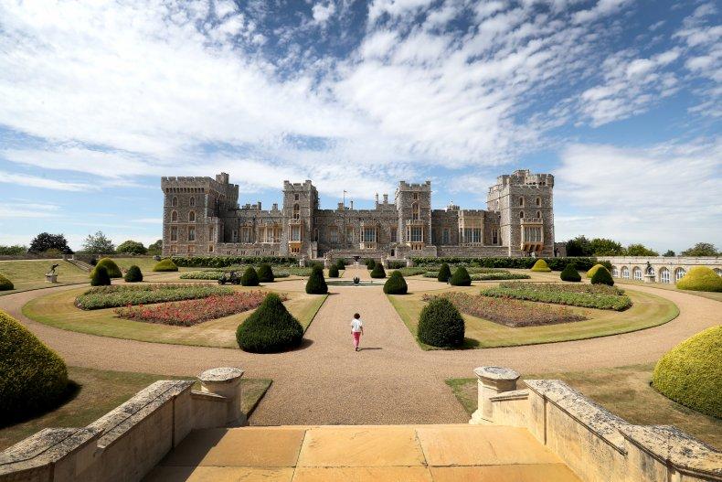 Queen Elizabeth II's Windsor Castle Garden