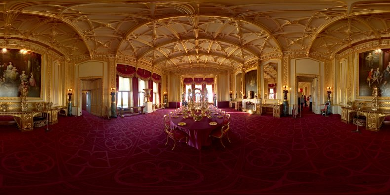 Winsor Castle State Dining Room
