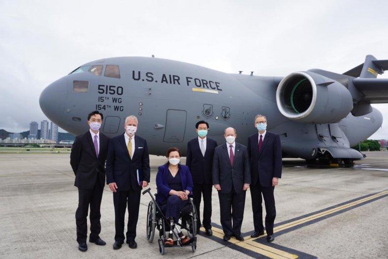 U.S. Senators Visit Taiwan For Vaccine Diplomacy