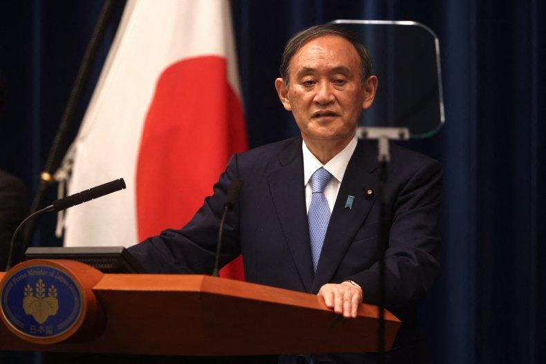 Japanese Prime Minister Addresses Press