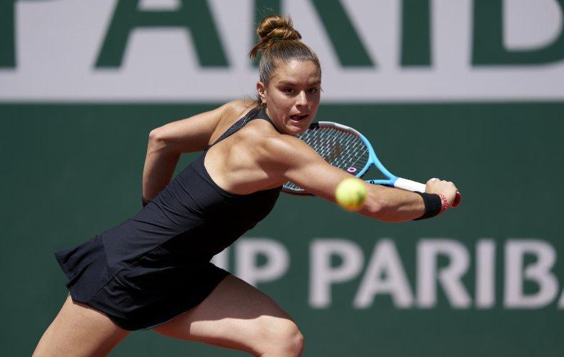 Maria Sakkari at the French Open