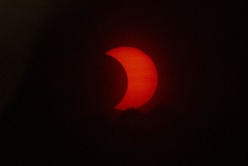 Solar eclipse visible in New Jersey