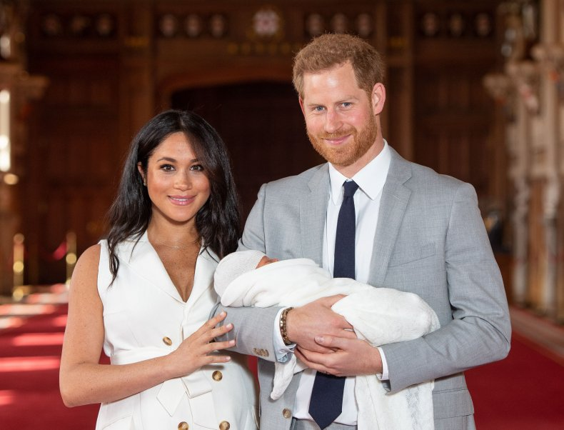 Prince Harry and Meghan Markle welcome daughter