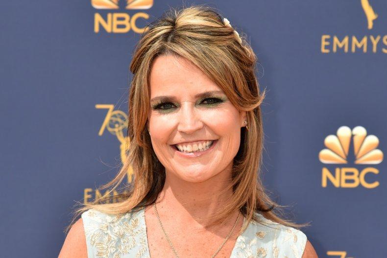 """""""Jeopardy"""" guest host Savannah Guthrie"""