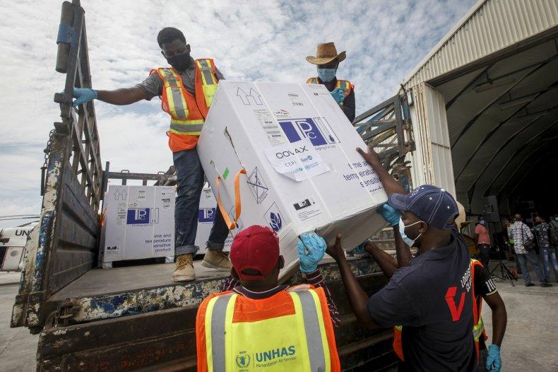 COVAX Delivery March 2021 Somalia