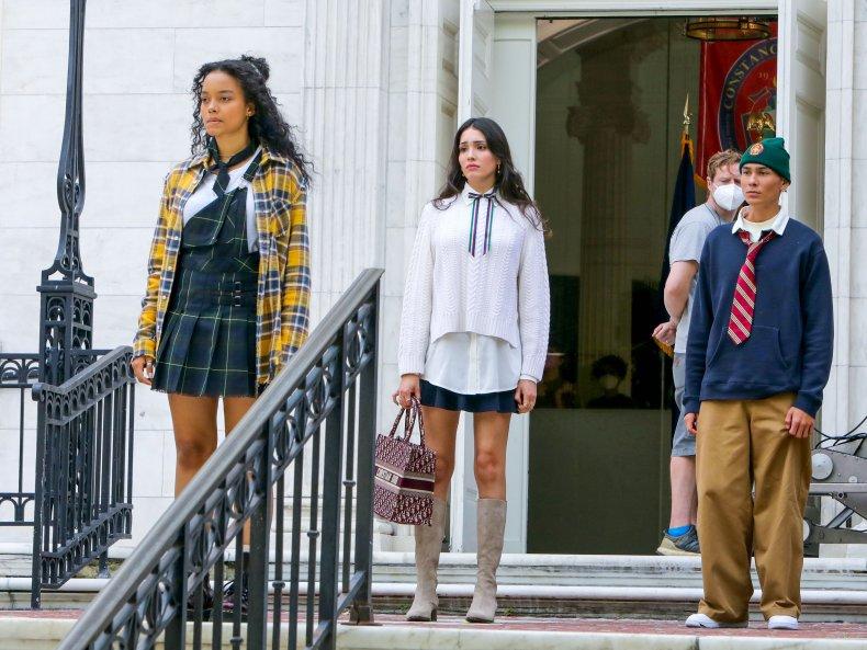 Behind the Scenes of Gossip Girl Reboot