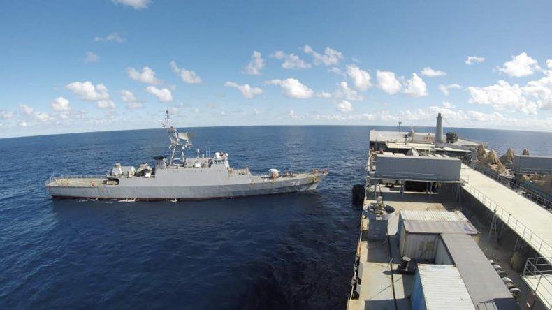 Iran Navy Mission June 10, 2021