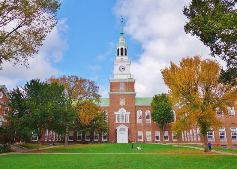 #17. Dartmouth College