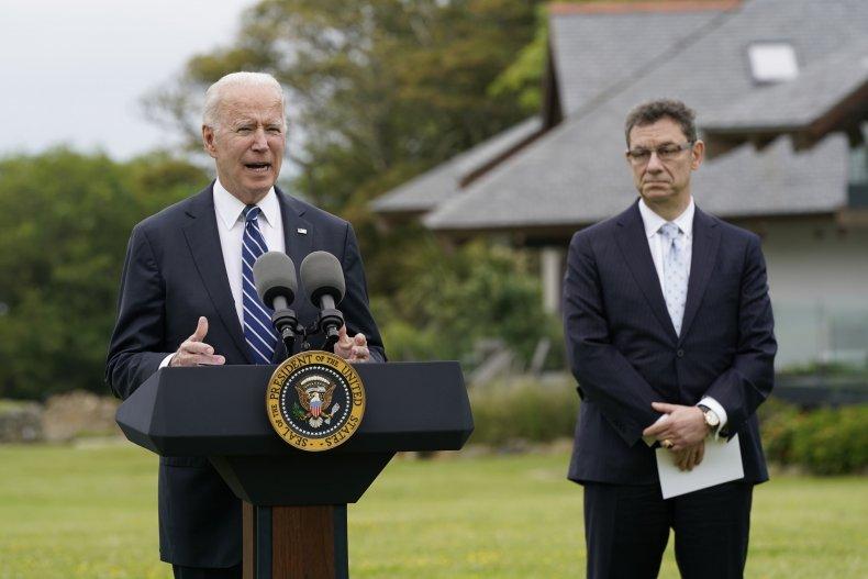 Biden at G-7 Summit