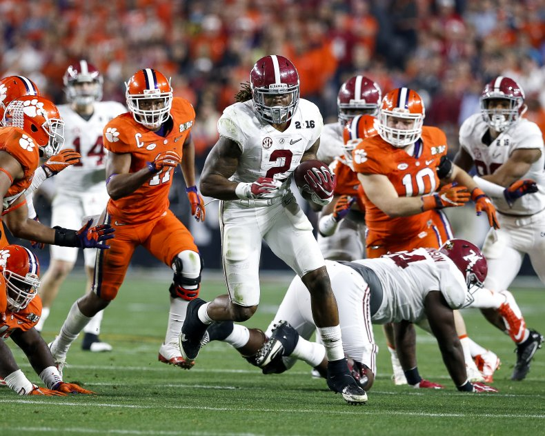 Alabama Crimson Tide Against Clemson Tigers