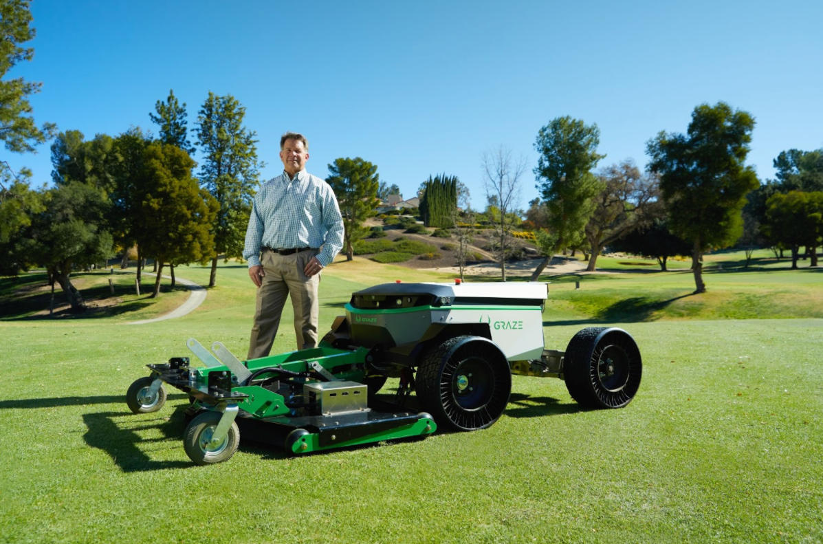Graze Mowing's Self-Driving Mower