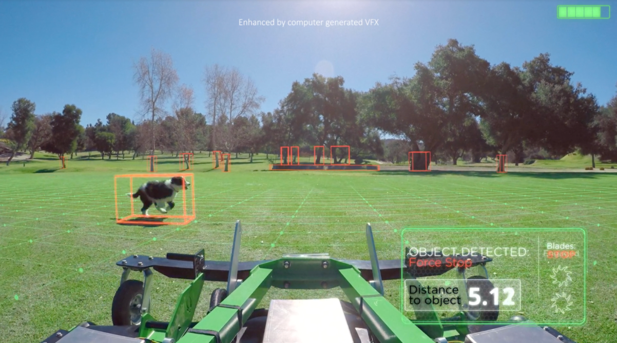 Graze Mowing's Self-Driving Mower - HUD