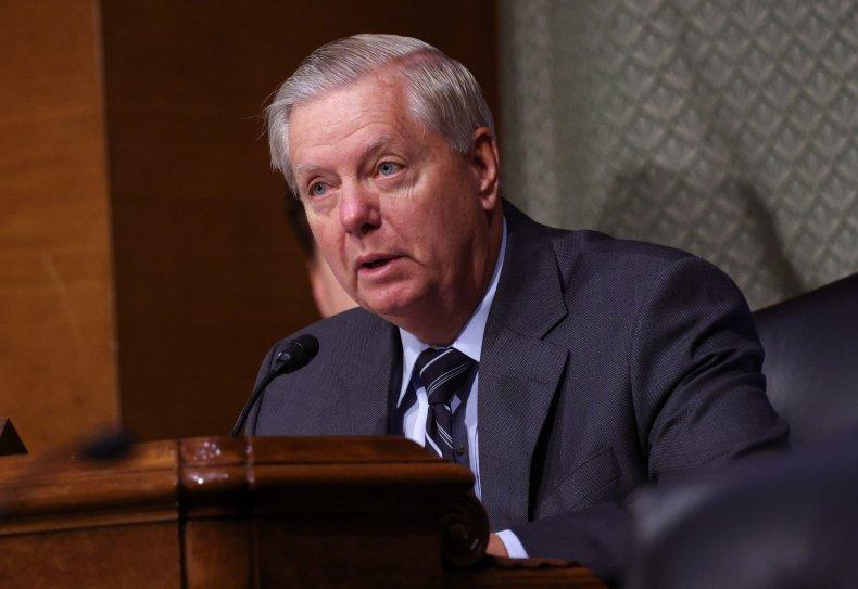 Lindsey Graham in Senate