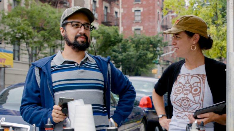 Lin-Manuel Miranda and Quira Alegria Hudes