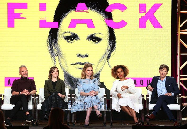 The cast of Amazon Prime comedy Flack