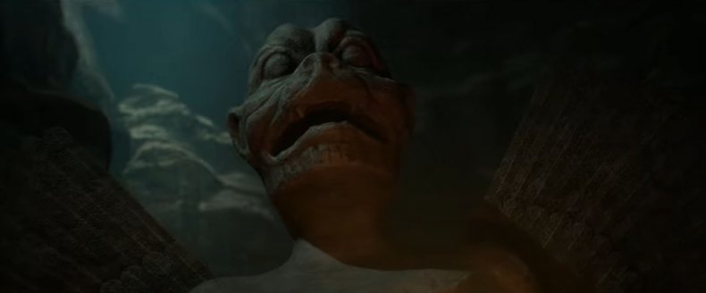 A Pazuzu Statue in House of Ashes