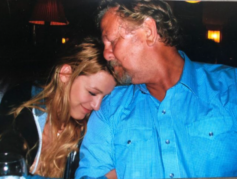 Blake Lively tribute to Ernie Lively